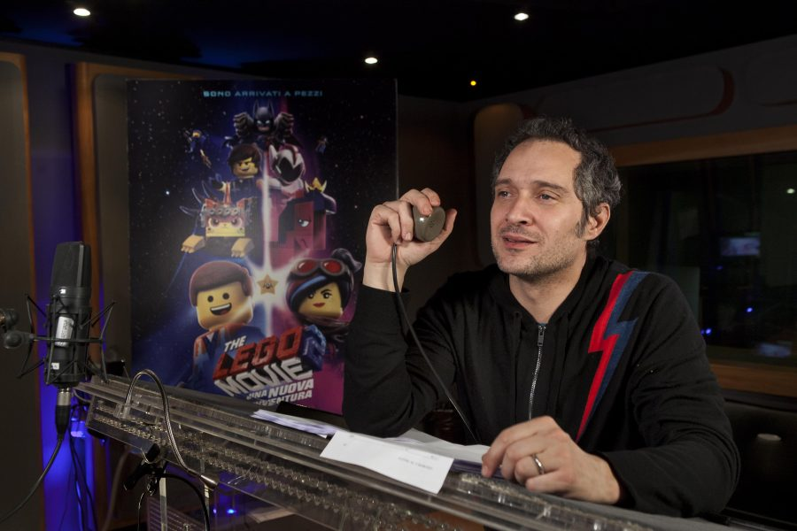 """The LEGO Movie 2: Una nuova avventura"", con Claudio Santamaria!"