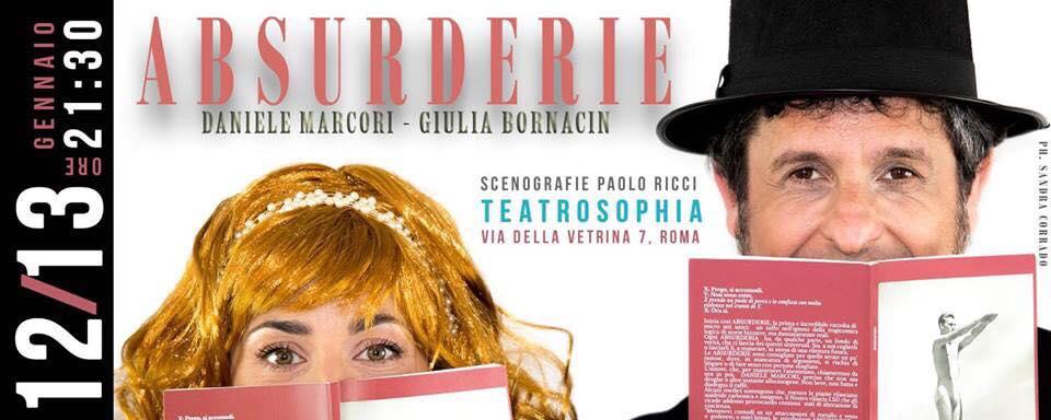 """""""Absurderie"""" in scena al Teatrosophia di Roma il 12 e 13 gennaio"""