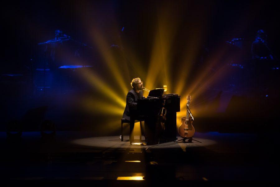 Brunori Sas ieri sera su Sky Arte con il suo spettacolo