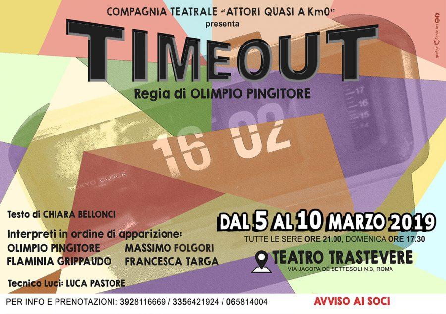 """""""Time Out"""": la commedia di Olimpio Pingitore arriva al Teatro Trastevere"""