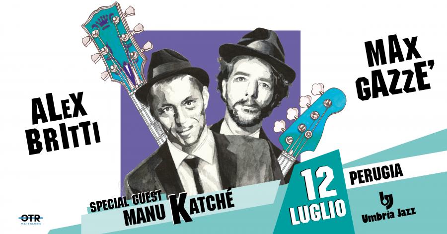 Alex Britti Max Gazzè e Katchè all'Umbria Jazz 2019