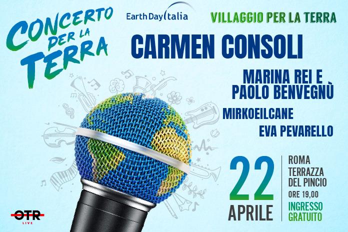"""""""Concerto per la Terra 2019"""": da Carmen Consoli a Mirkoeilcane – OSPITI"""