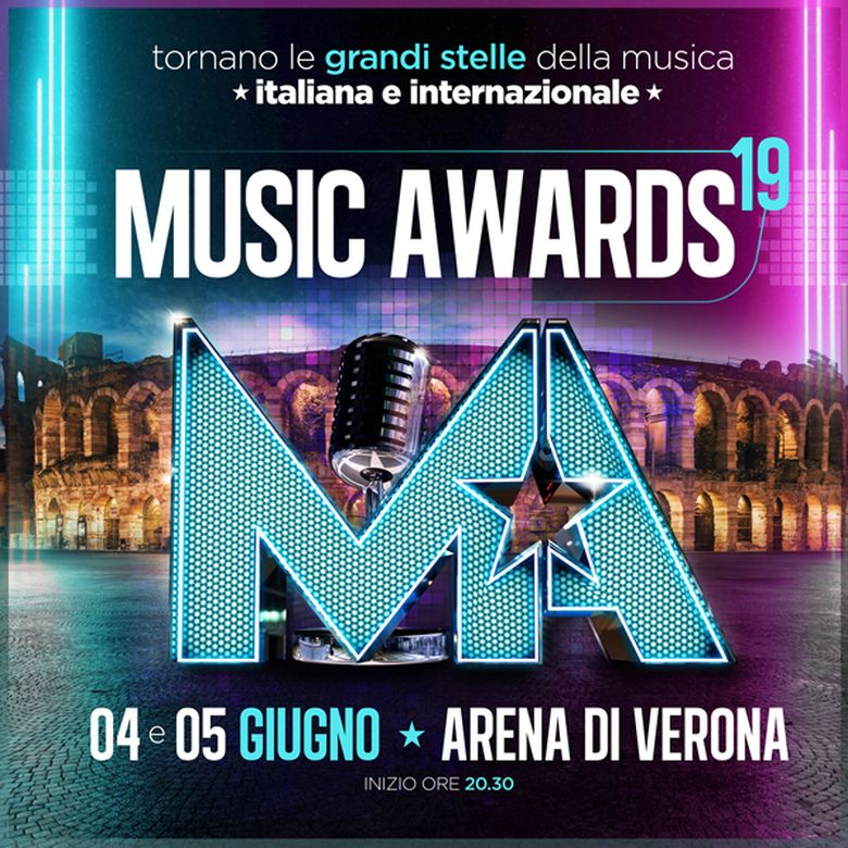 Music Awards 2019: appuntamento all'Arena di Verona