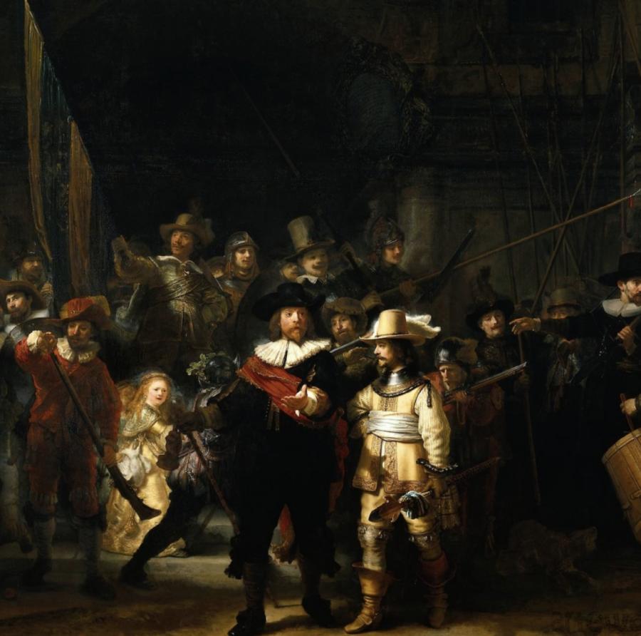 """Il restauro-show de """"La ronda di notte"""" di Rembrandt ad Amsterdam"""