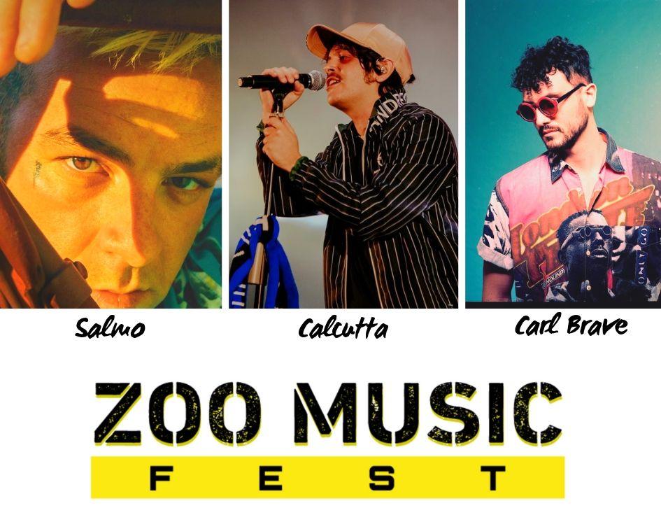 Salmo Calcutta e Carl Brave allo Zoo Music Fest di Pescara