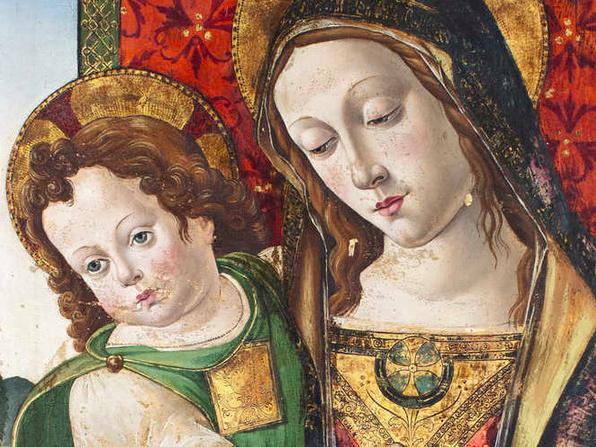 "L'opera attribuita a Pinturicchio ""Madonna col Bambino"" torna a Perugia"