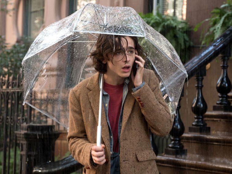 """""""Un giorno di pioggia a New York"""": trailer del film di Woody Allen"""