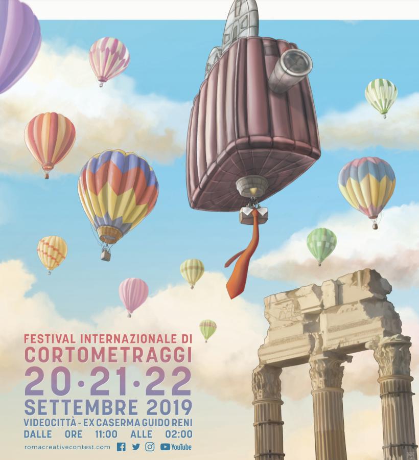 """""""Roma Creative Contest 2019"""": al via oggi la nona edizione del Festival"""