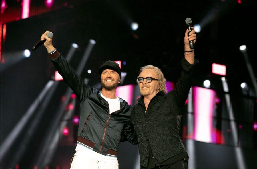 Il duo composto da Raf e Umberto Tozzi si riunisce per un tour nel 2020