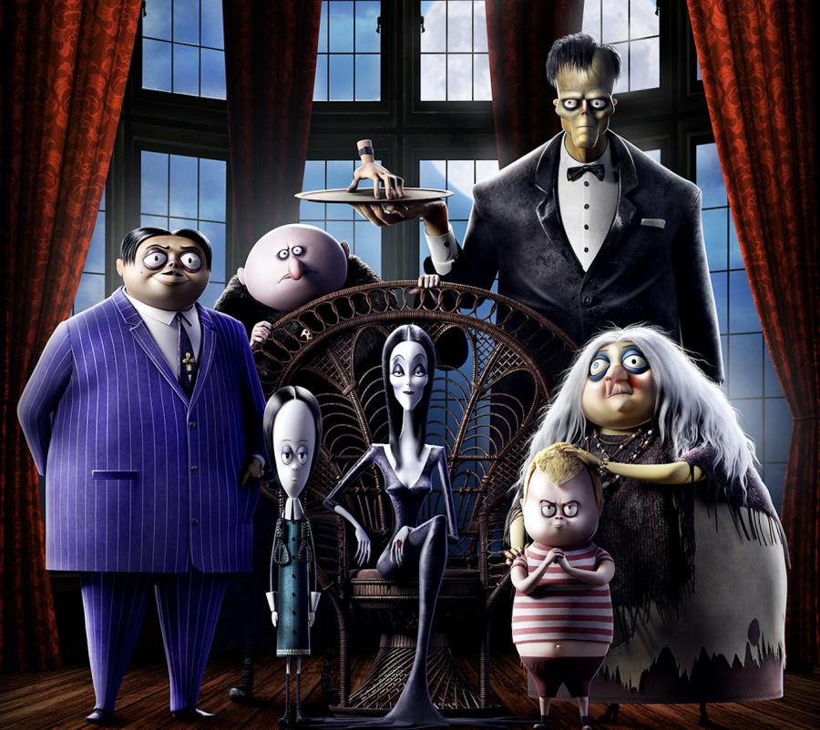 """""""La Famiglia Addams"""": fuori ad Halloween il film con un cast di voci stellare"""