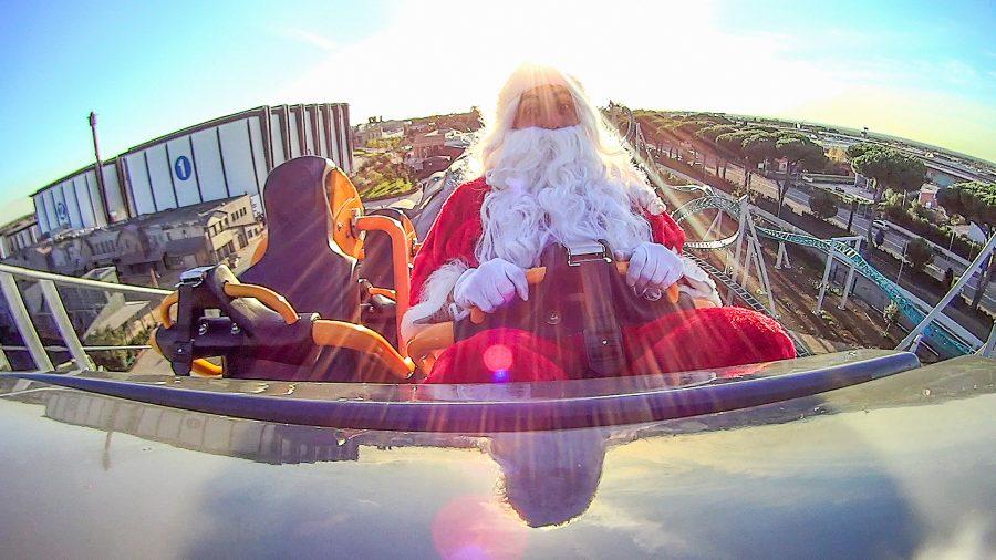 La magia del Natale riempie Cinecittà World a Roma