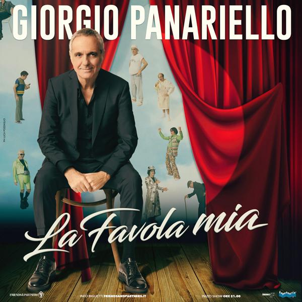 """""""La favola mia"""": 20 anni di carriera in uno show per Giorgio Panariello"""