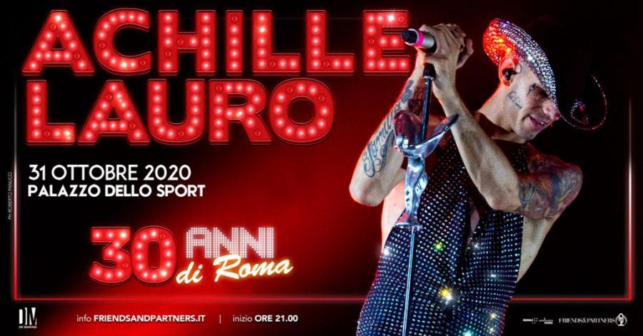 Achille Lauro festeggia i suoi 30 anni con un concerto a Roma