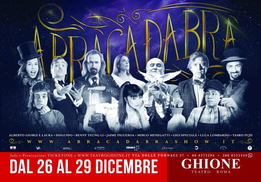 """""""Abracadabra. La Notte dei Miracoli"""": gli illusionisti stregano Roma"""