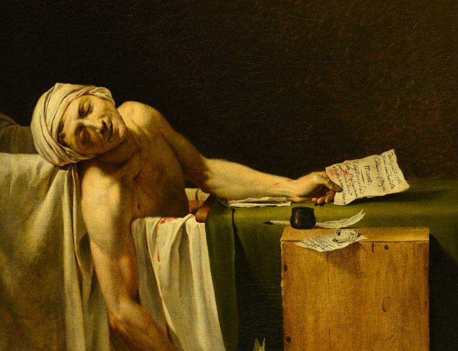 A Napoli Carvaggio a confronto con Jacques-Louis David