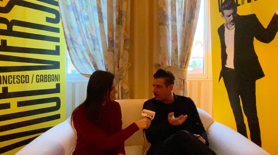 """Intervista a Francesco Gabbani, a Sanremo 2020 con """"Viceversa"""""""