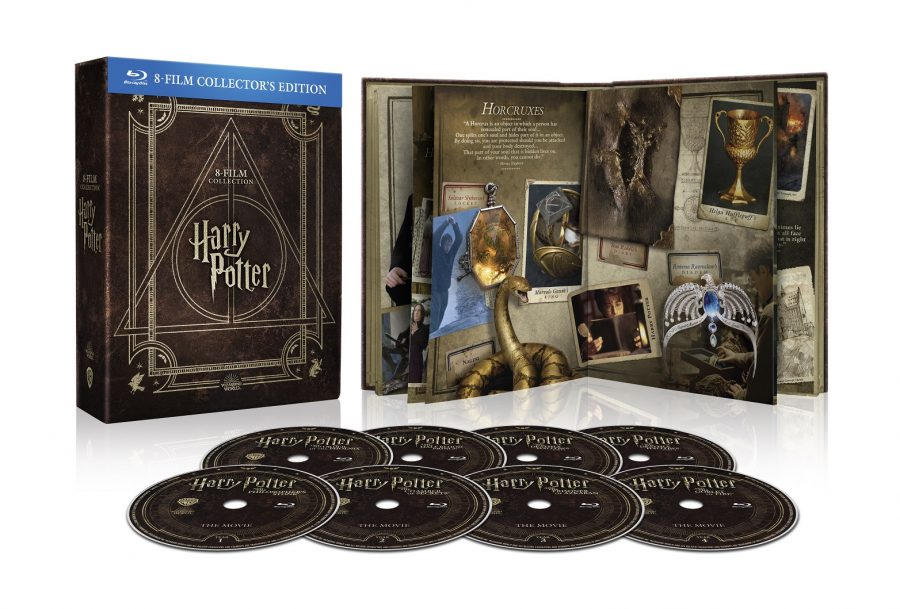 Harry Potter: tutta la saga per la prima volta in DVD e Blu-Ray