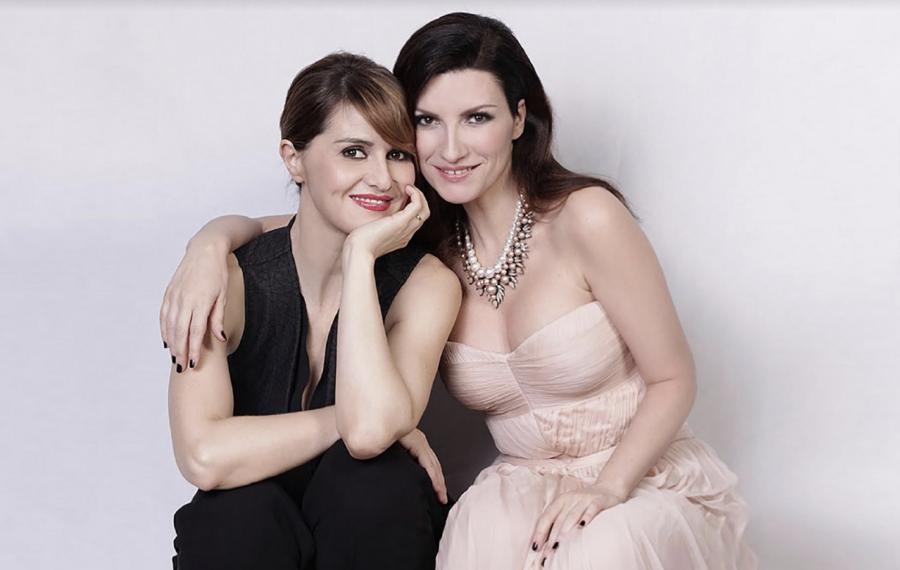 Laura Pausini e Paola Cortellesi insieme su Instagram