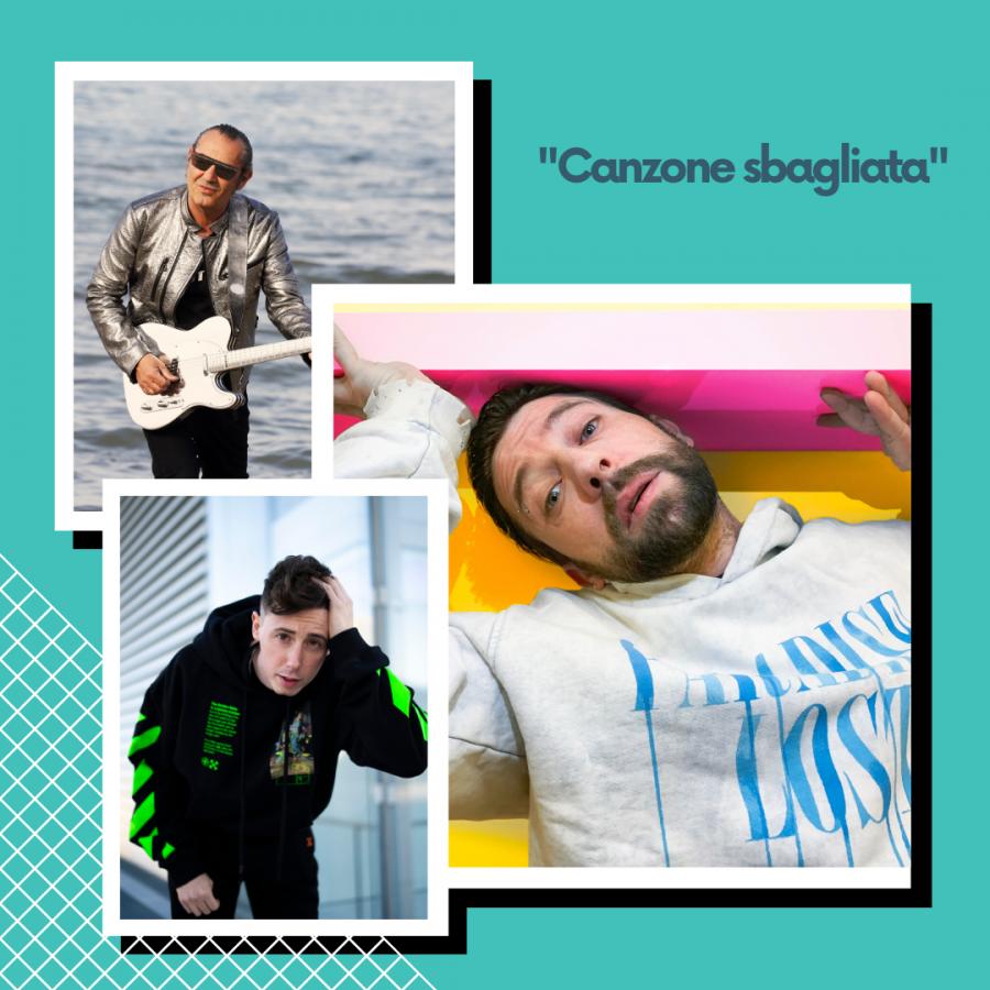 """Danti feat Luca Carboni e Shade insieme in una """"Canzone sbagliata"""""""