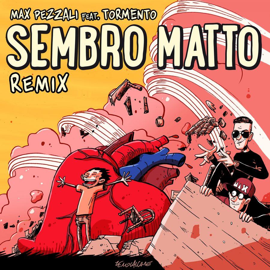 """Max Pezzali e Tormento lanciano """"Sembro matto remix"""""""
