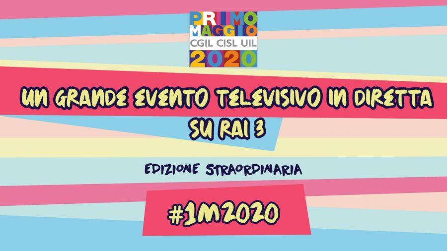 Primo Maggio 2020: il concerto in diretta su Rai Tre