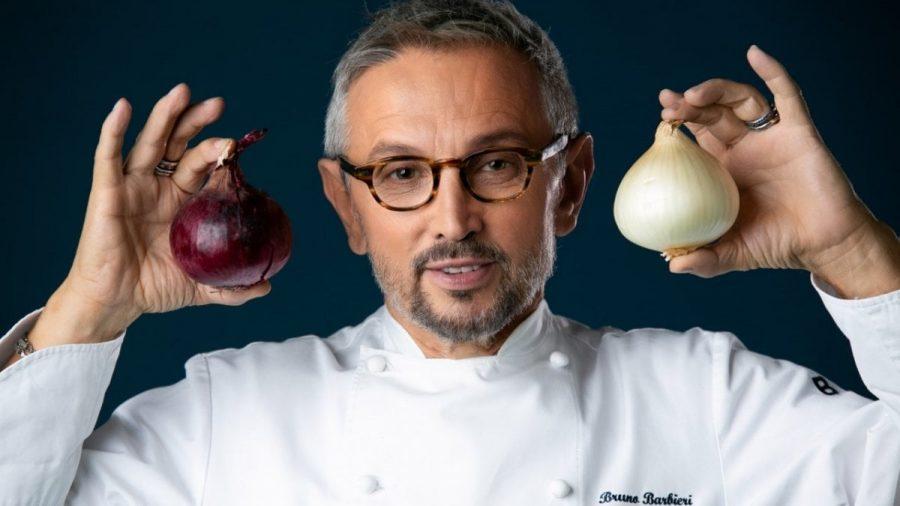 Chef Bruno Barbieri sostiene l'Antoniano con pasta Sgambaro