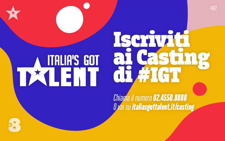"""""""Italia's Got Talent"""": via ai casting per la nuova edizione"""