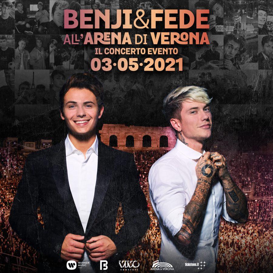 """Benji e Fede pronti a inondare l'Arena di Verona di """"good vibes""""!"""