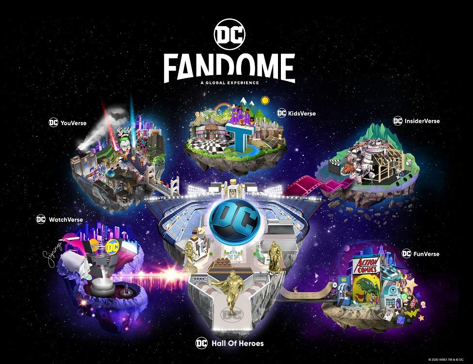 Ritorna il DC FanDome: dietro le quinte di film, serie tv, games e fumetti