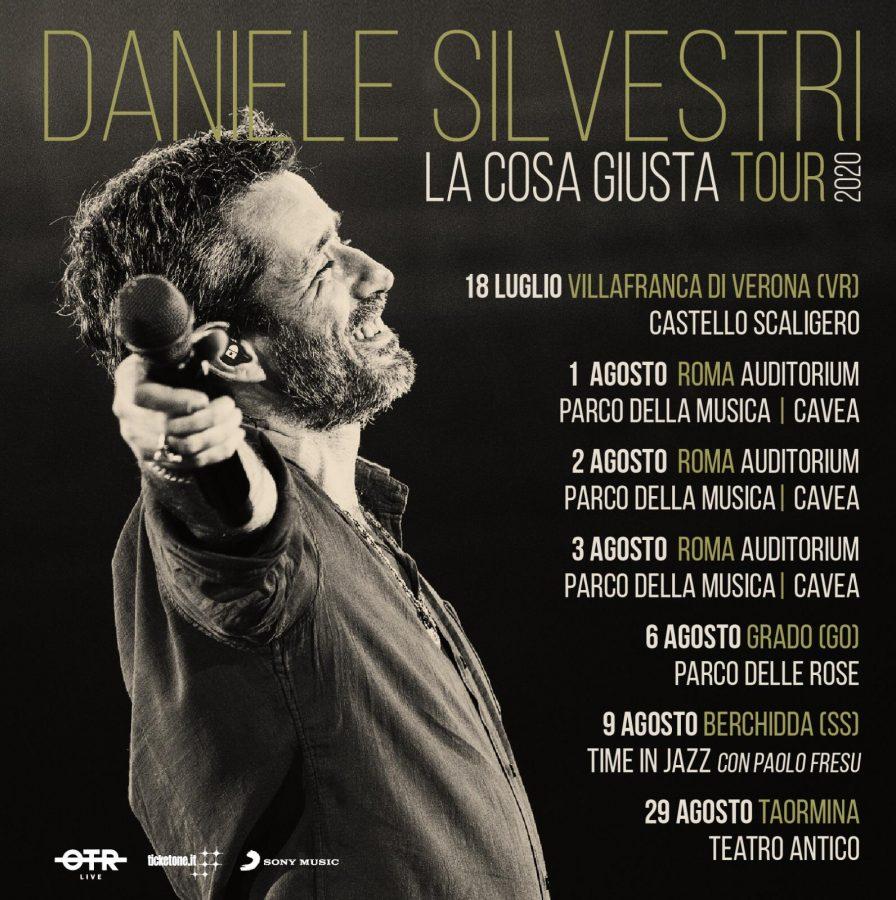 """Daniele Silvestri in partenza con il suo tour """"La cosa giusta TOUR2020"""""""
