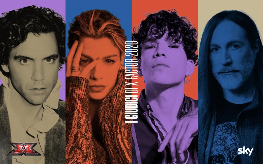 """""""X Factor 2020"""": ecco chi saranno i 4 giudici della nuova edizione"""