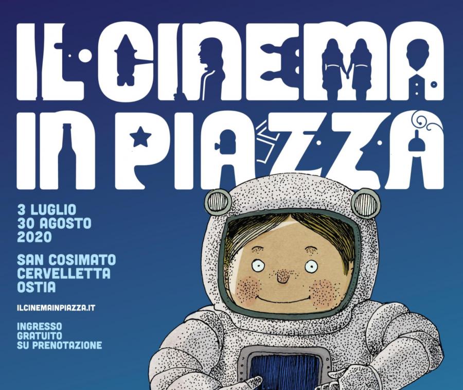 """""""Il Cinema in Piazza"""": la sesta edizione fino al 30 agosto 2020"""