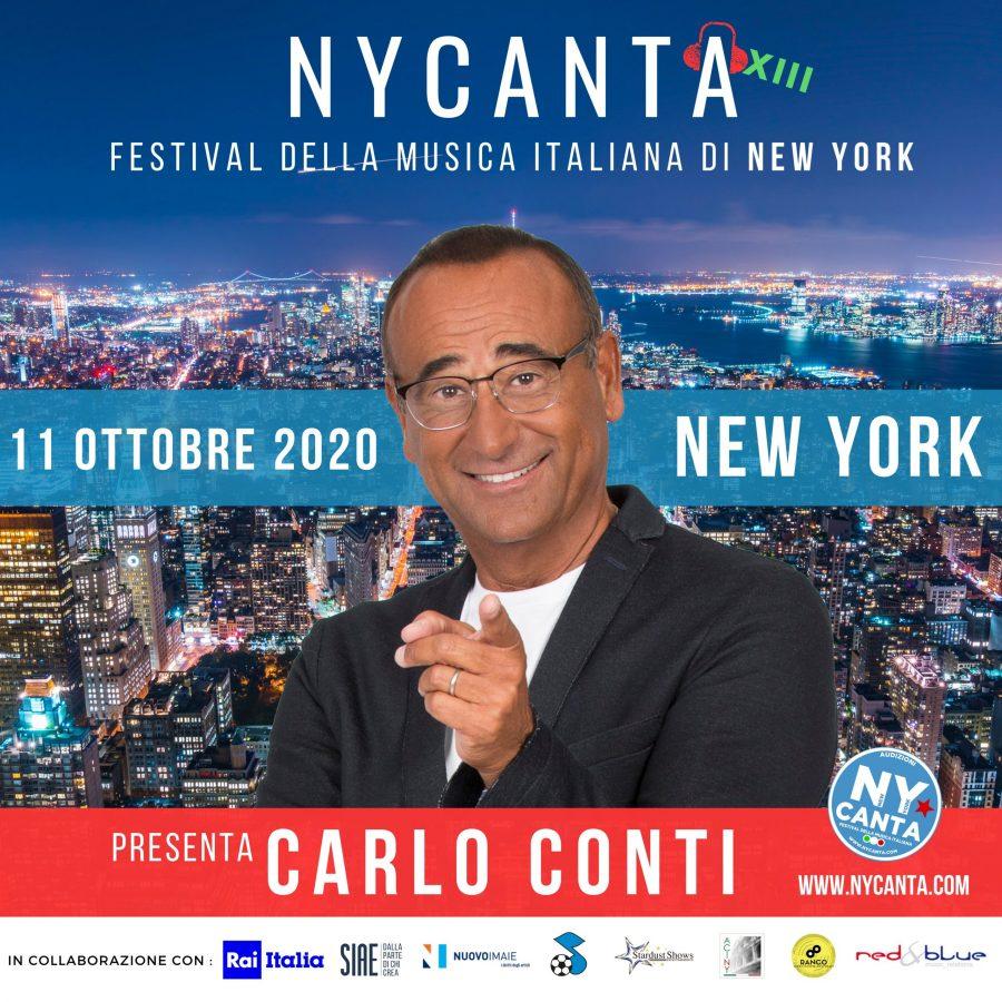 Il Festival della Musica Italiana di New York presentato da Carlo Conti