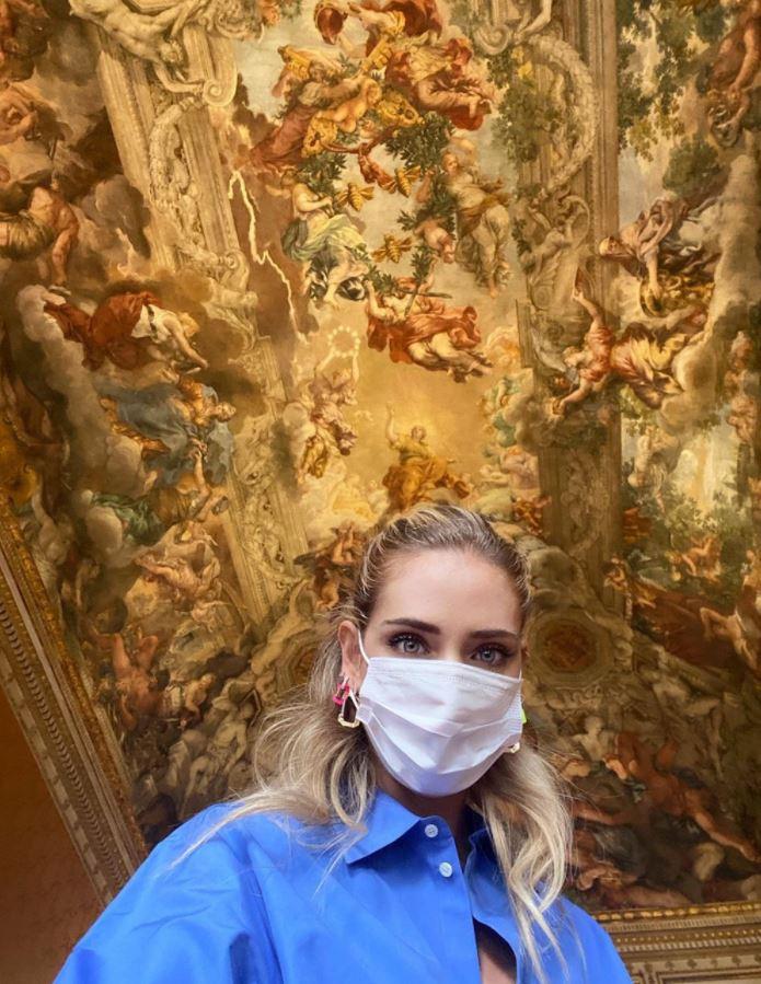 Chiara Ferragni e l'arte: la visita a Palazzo Barberini a Roma