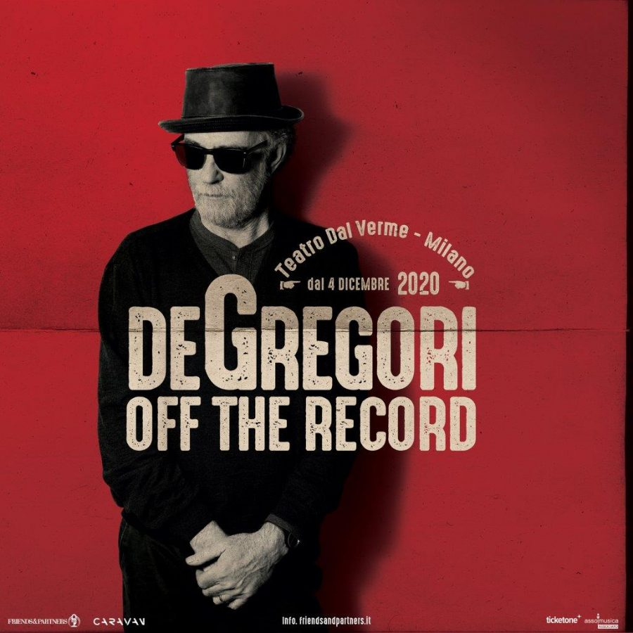 "Francesco De Gregori: riparte il tour ""Off The Record"""