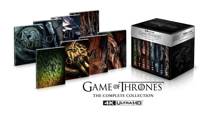 """""""Il Trono di Spade"""": arriva un'edizione limitata in 4K Ultra HD Blu-ray"""