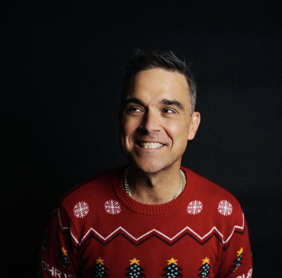 """Robbie Williams: fuori oggi il nuovo singolo """"Can't Stop Christmas"""""""