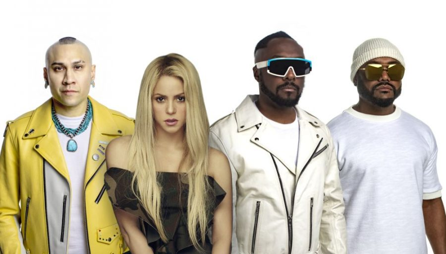 "Black Eyed Peas e Shakira insieme sulle note di ""Girl Like Me"""