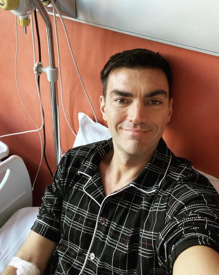Gabry Ponte in ospedale per una delicata operazione al cuore