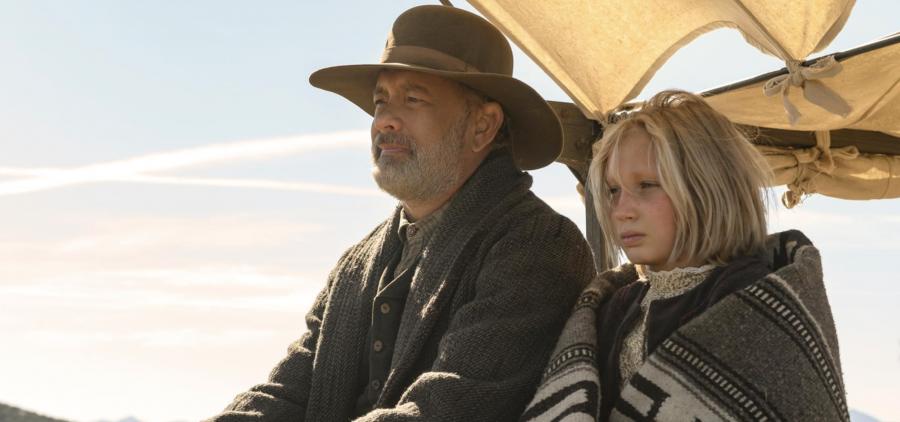 """""""Notizie dal mondo"""": su Netflix il film con Tom Hanks e Helena Zengel"""