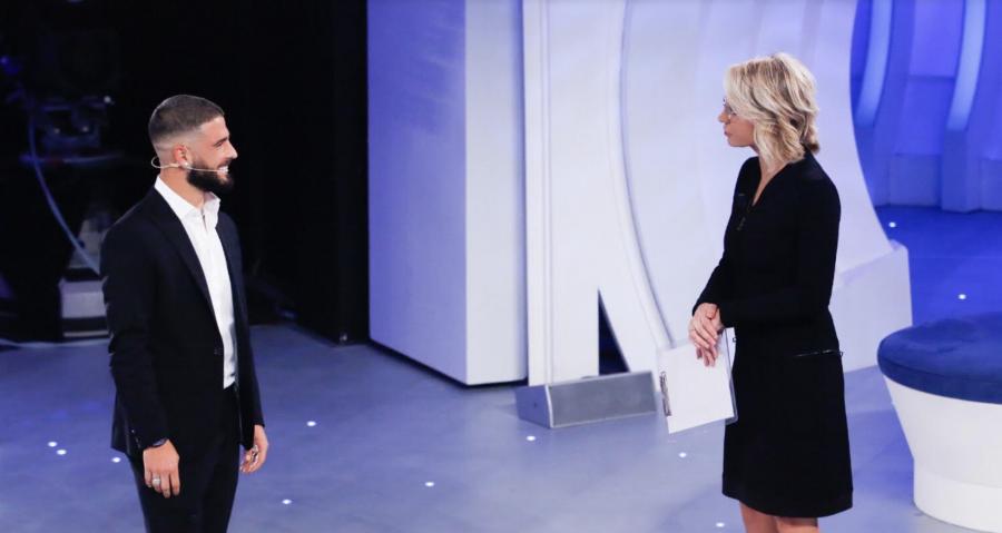 """C'è posta per te"": Gerry Scotti e Lorenzo Insigne super ospiti di domani"