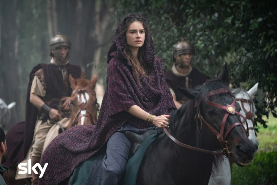 """""""Domina"""": la serie Sky con Kasia Smutniak ambientata nell'antica Roma"""